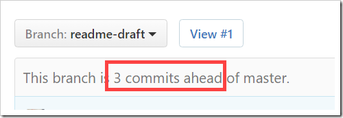 This branch is 3 commits ahead of master