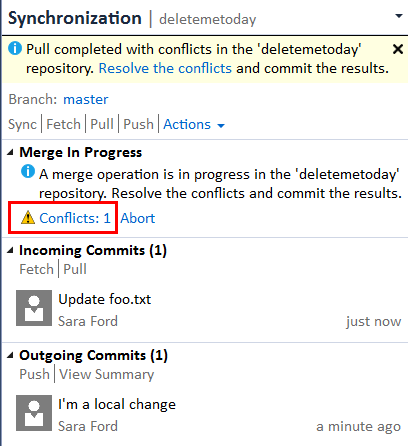 git abort merge with conflicts