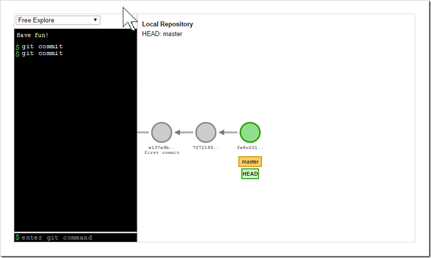 initial setup in visualization tool
